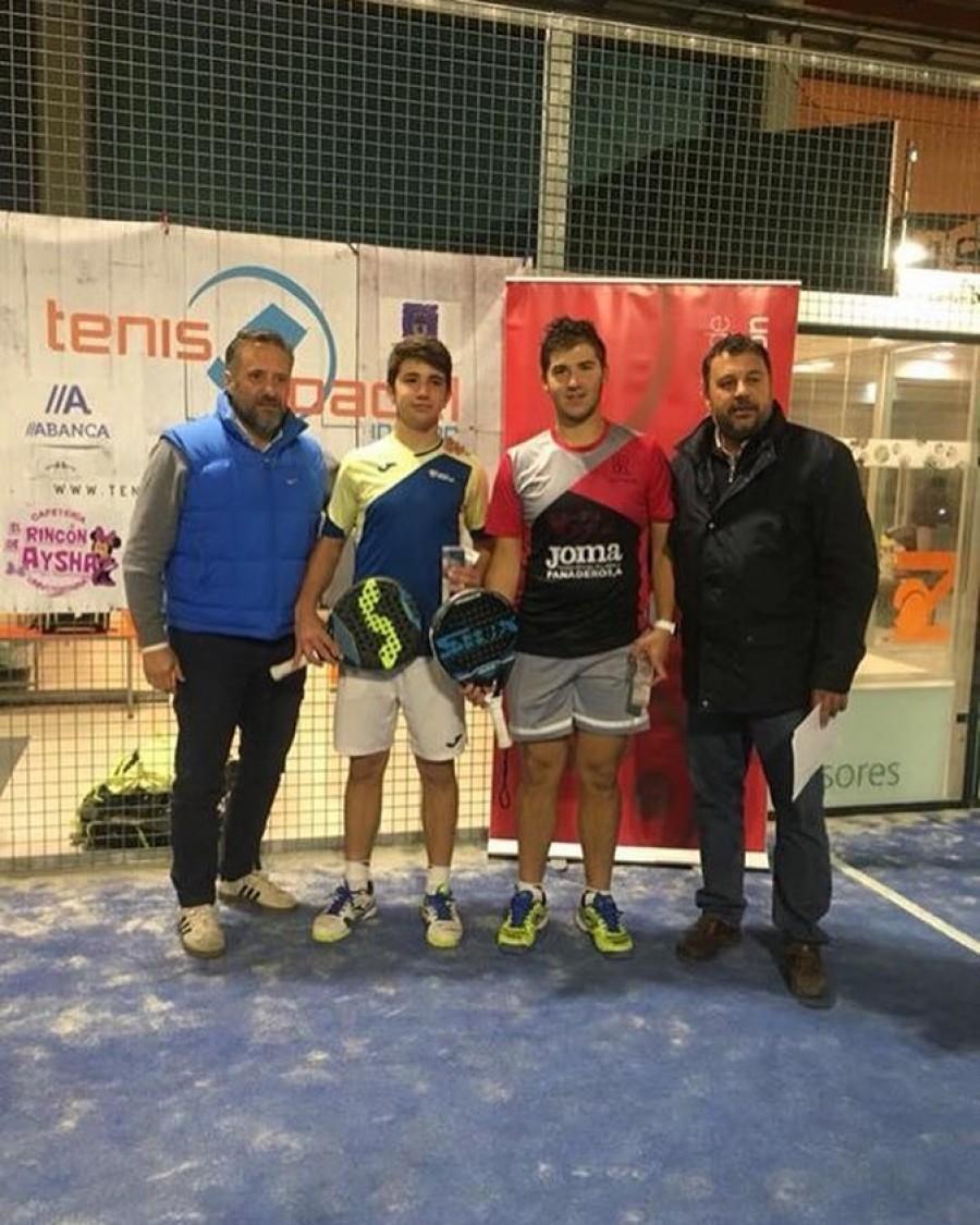 Ivan Arrondo, campeón Junior del Master de CyL de Menores