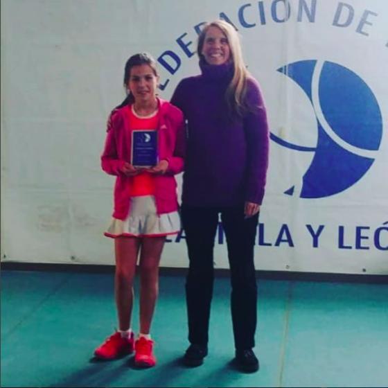 Carolina Sánchez, finalista autonómica alevín