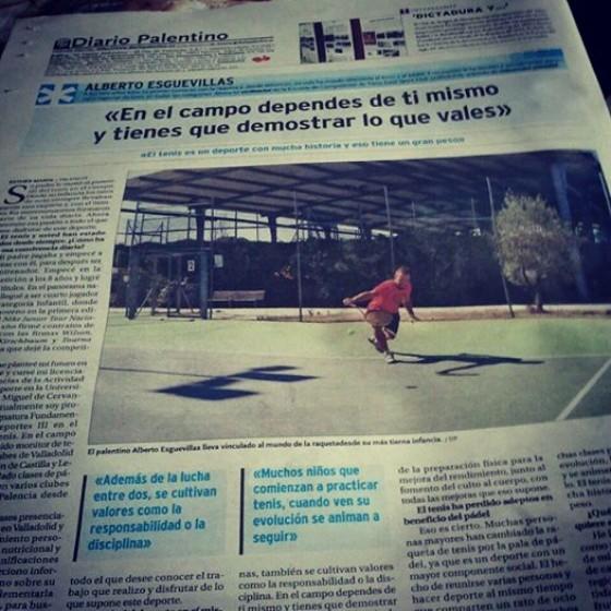 Entrevista en el Diario Palentino