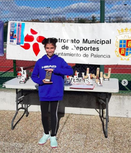 Ángela Mozo, Campeona en Palencia