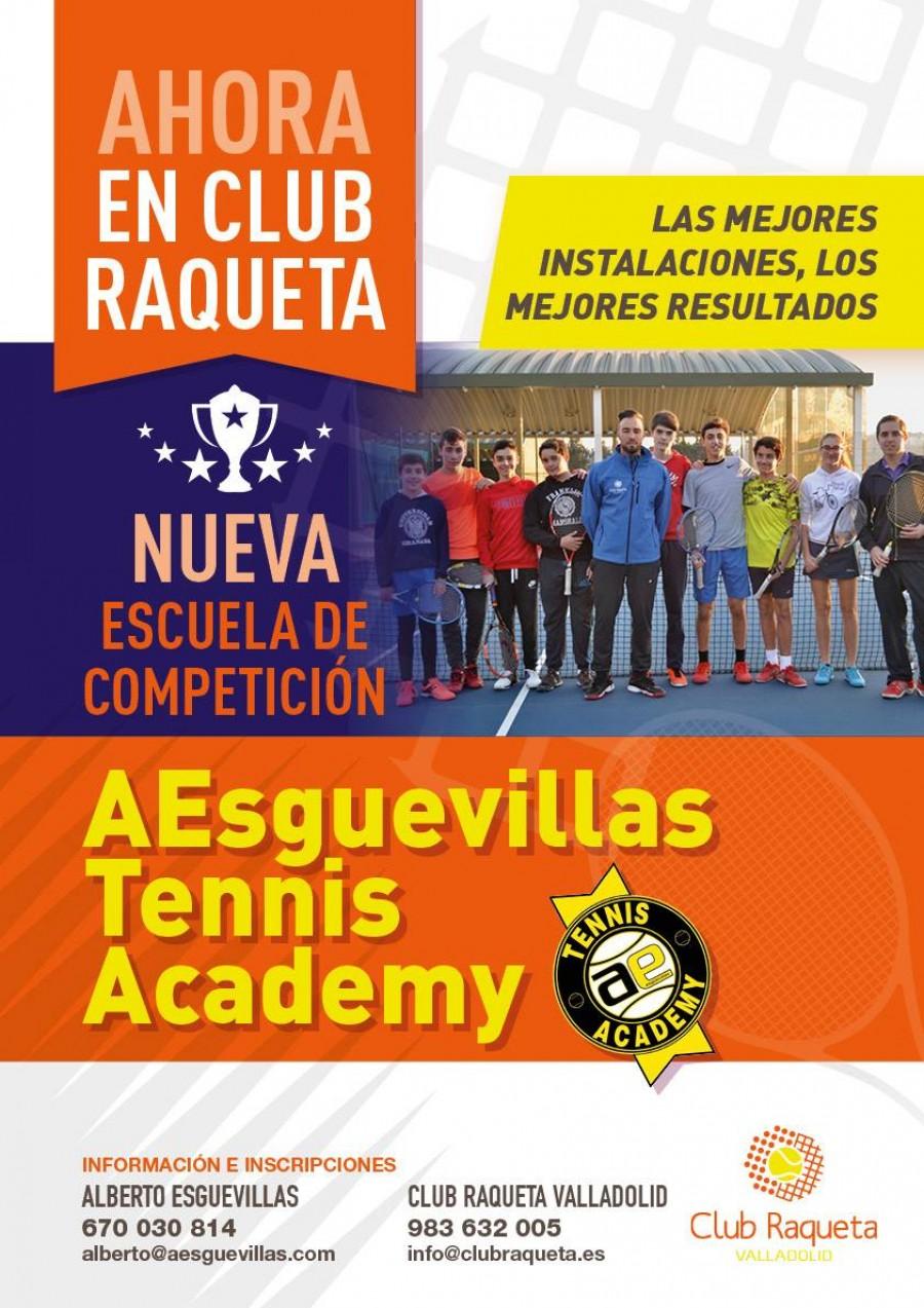 AEsguevillas Tennis Academy en Club Raqueta Valladolid