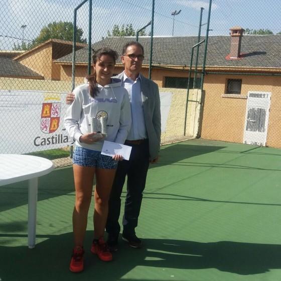 "Alba Samaniego, subcampeona Torneo Nacional ""Santa Teresa"" en Ávila"