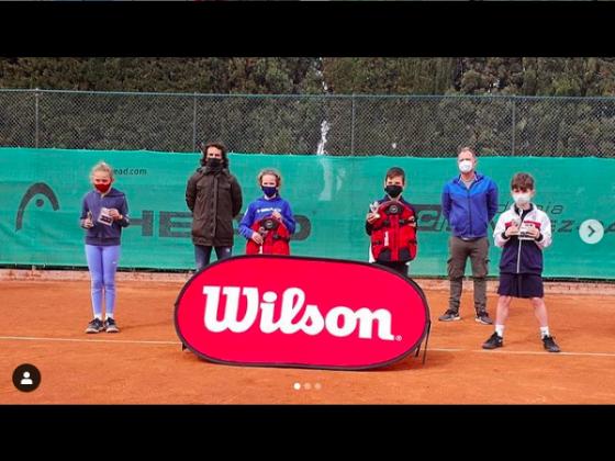 Ainara Garcia, Campeona en Industria del Tenis by Wilson en Barcelona