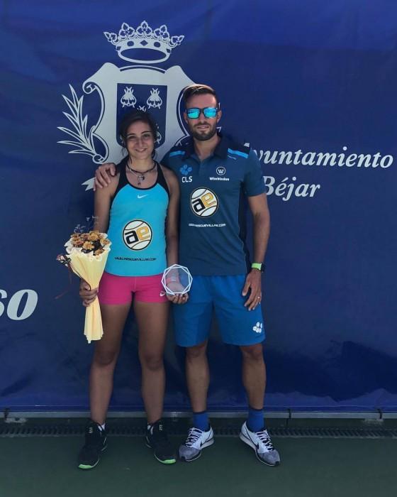 Alba Samaniego, subcampeona Junior en Open Nacional Ciudad de Bejar