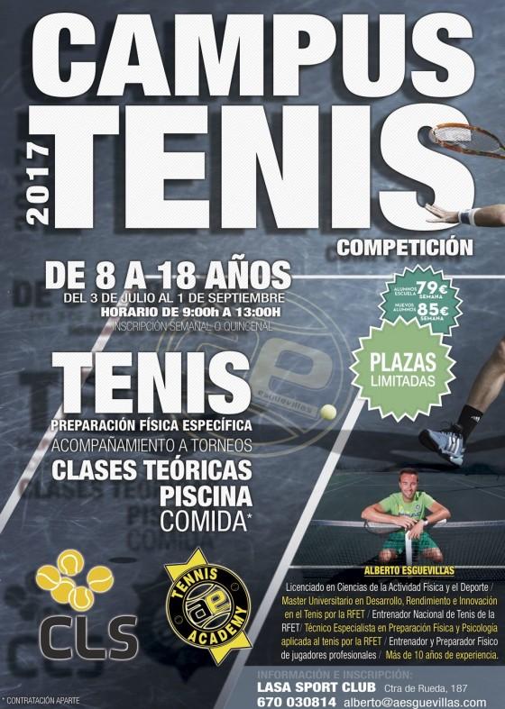 Campus de Verano AEsguevillas Tennis Academy 2017