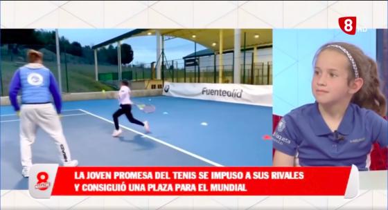 🎥 Entrevista junto Ainara Garcia en La 8