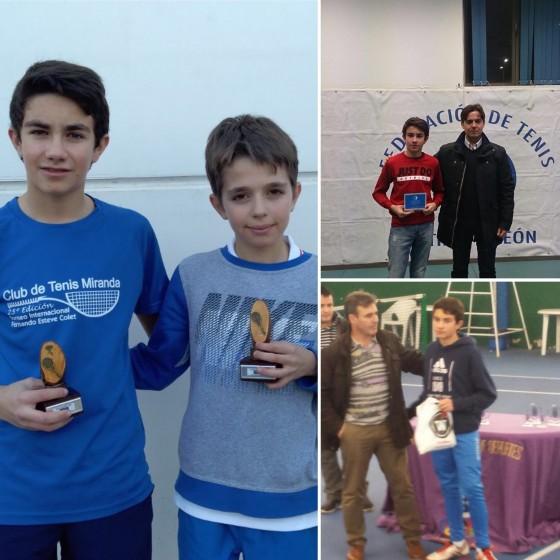 Triunfos de Alberto Santos en los torneos de Navidad